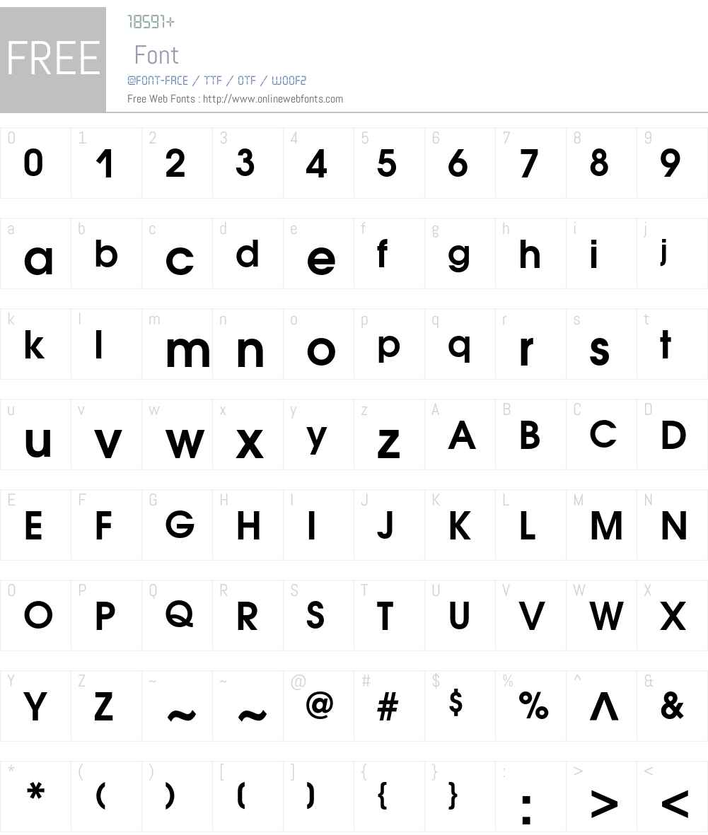 AvantGardeGothicC Font Screenshots