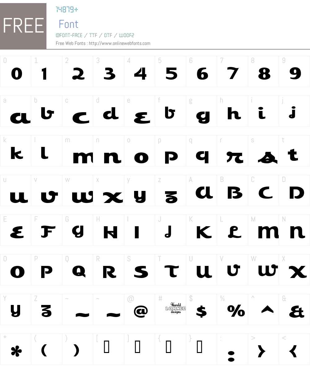 EsquivelCondensed Font Screenshots