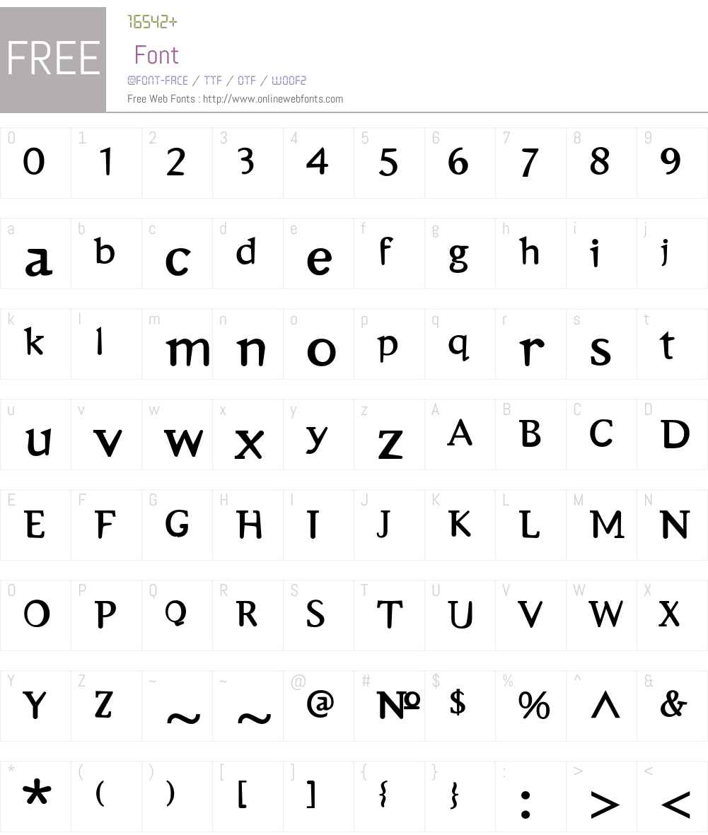 Emulate Font Screenshots