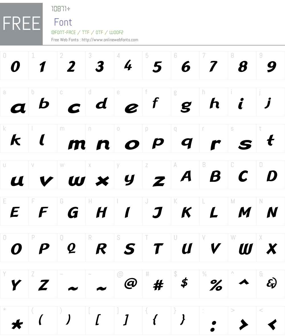 Linotype Rana Font Screenshots