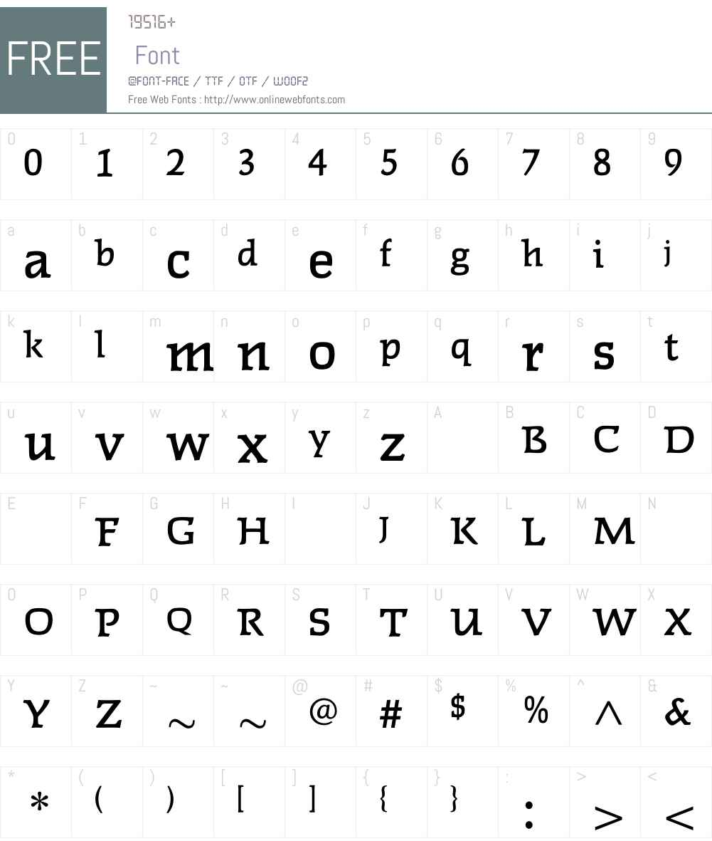 FaustMedium Font Screenshots