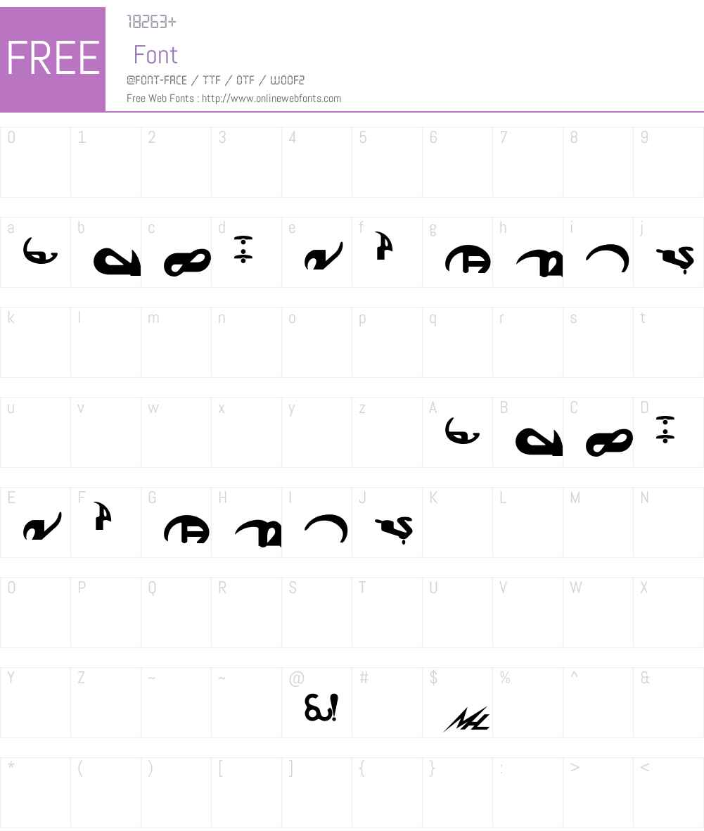 Boonta Font Screenshots
