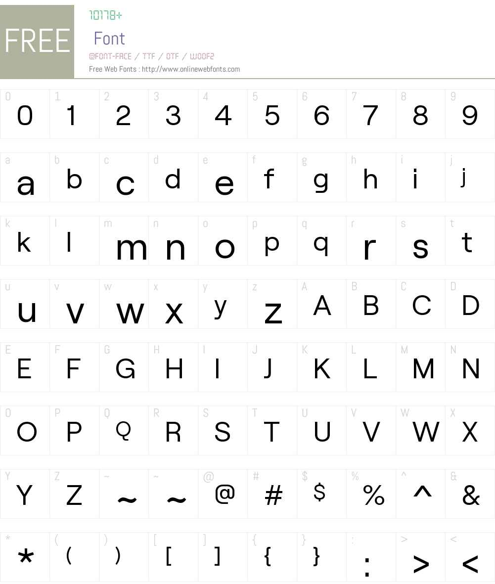 Roobert-Regular Font Screenshots