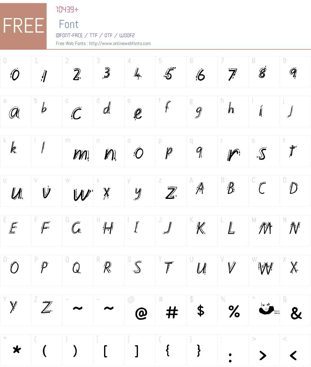 Kiwi School Handwriting with Guides Font Screenshots
