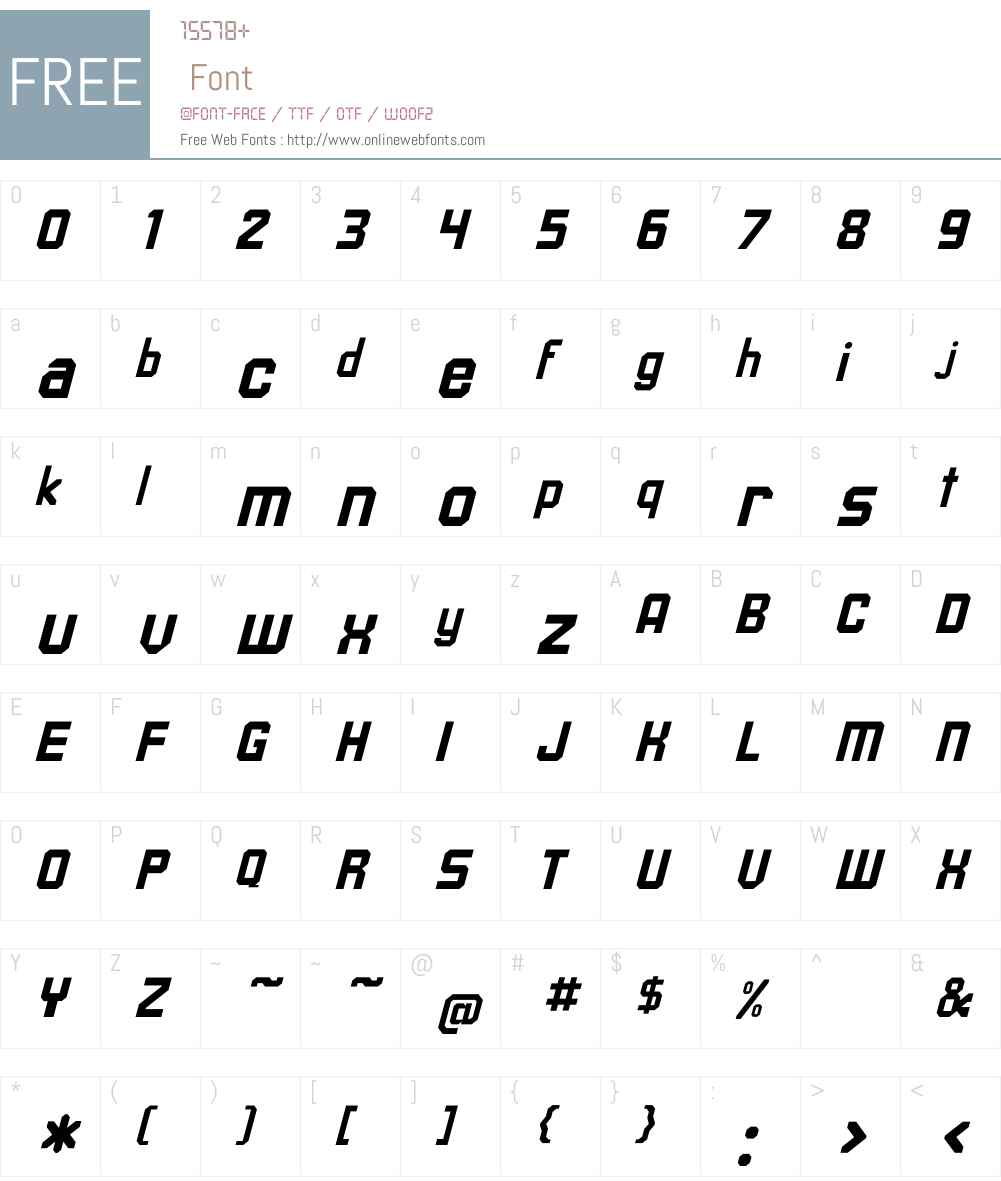 Upsilon Italic Font Screenshots