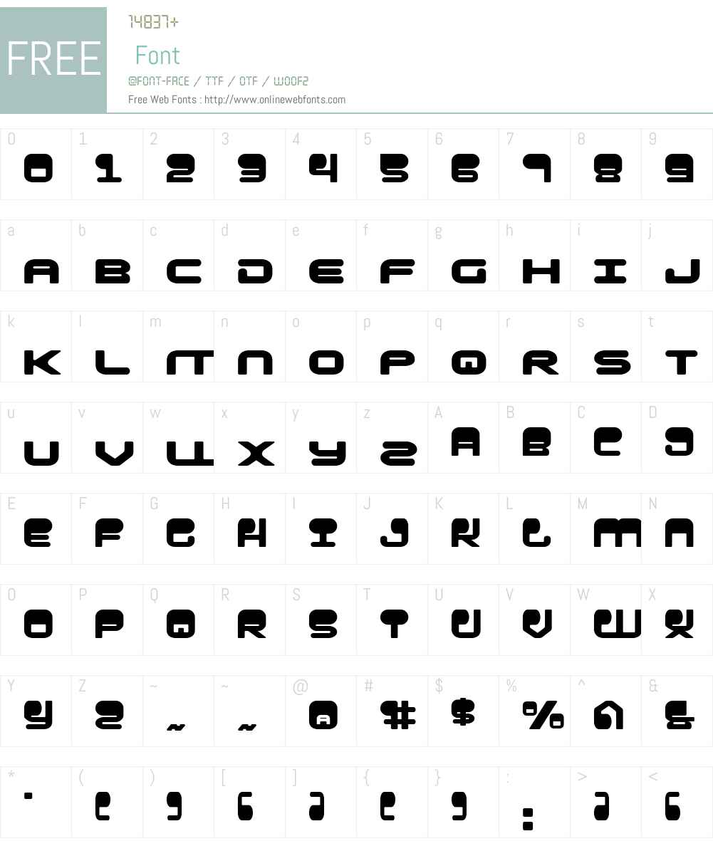 HYPNO Agent Font Screenshots