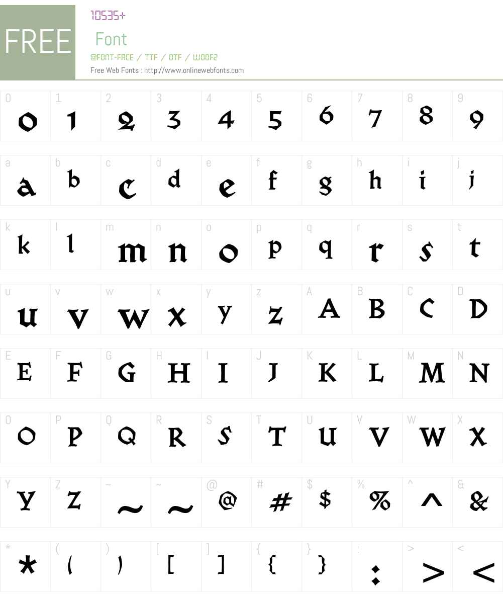 Werkstatt ITC Std Font Screenshots