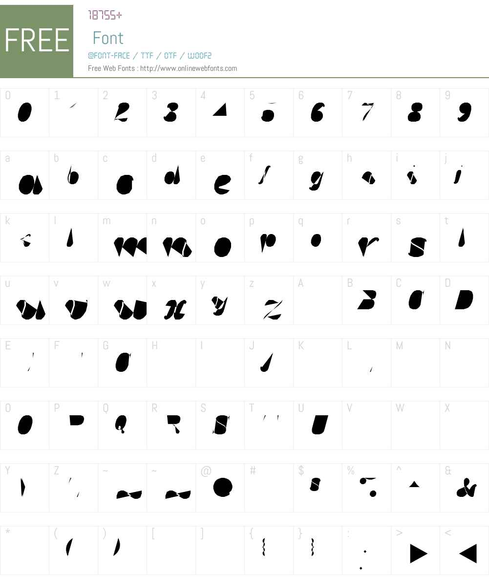 Hershey-Plain-Duplex-Italic Font Screenshots