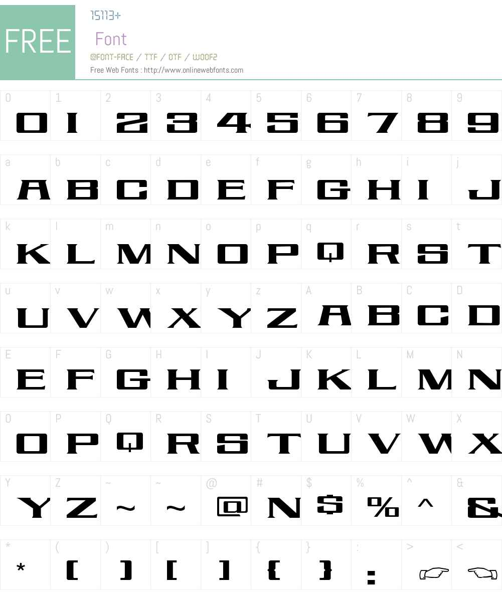 LHF Ortlieb Font Screenshots