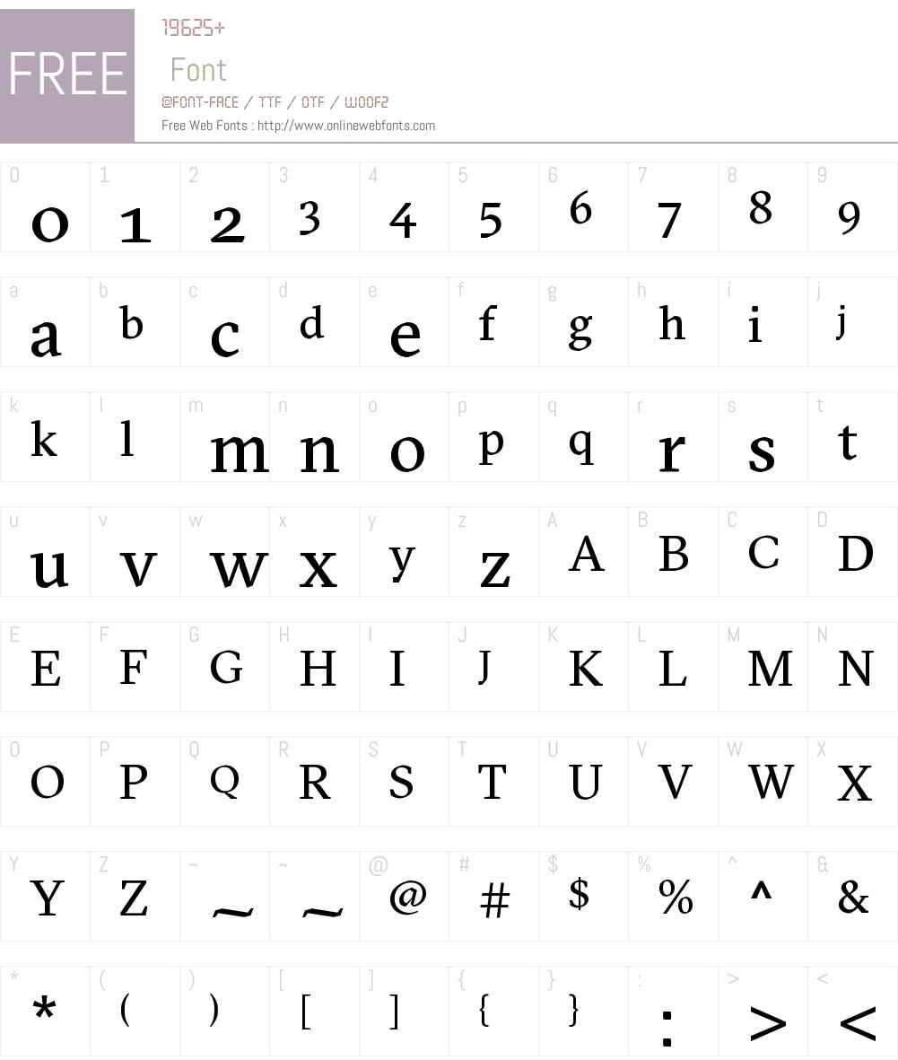 GT Sectra Font Screenshots