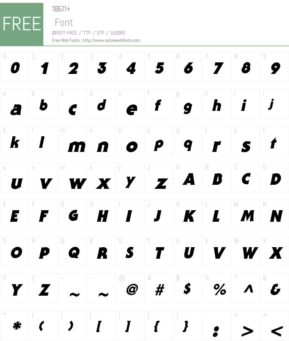 Staid Gothic Black Font Screenshots