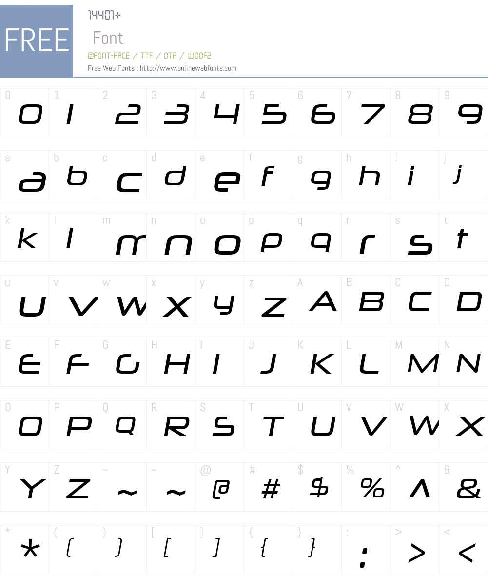 NeuropoliticalW00-BookIt Font Screenshots