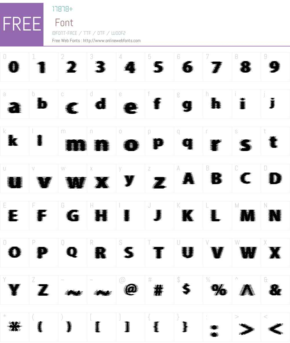 Beer Goggles Font Screenshots