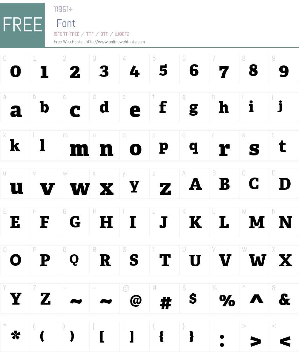 Adelle Font Screenshots