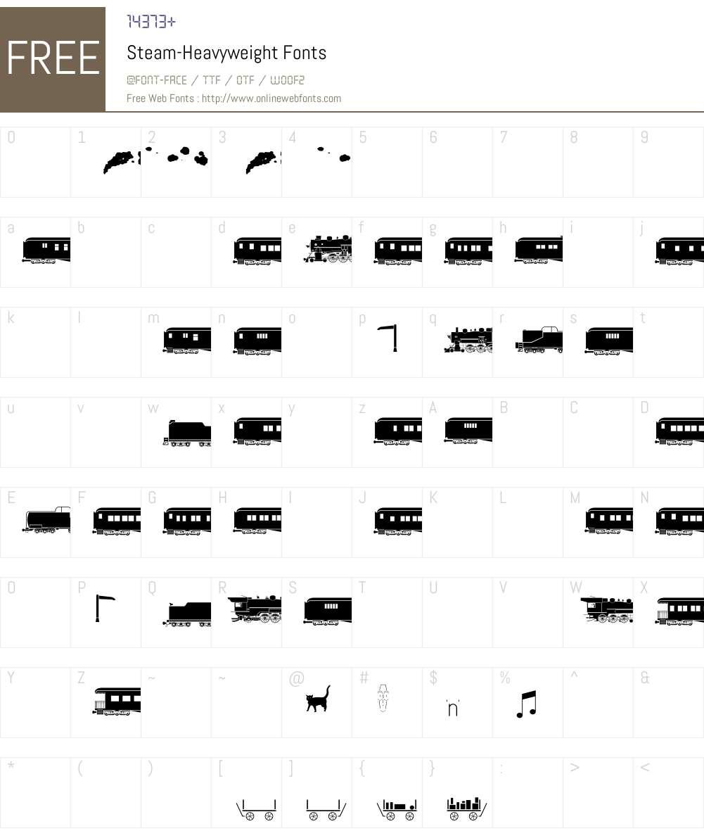 Steam Font Screenshots