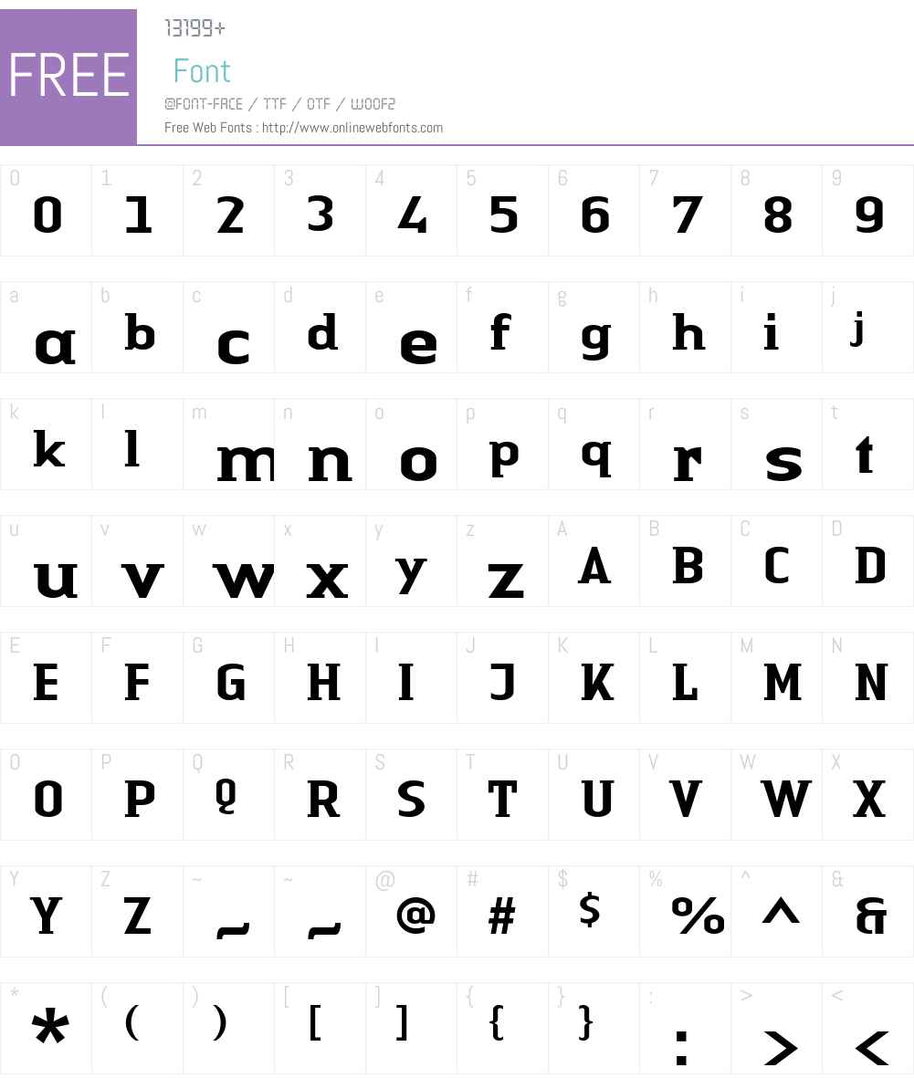 LTAuthenticSmallSerif Medium Font Screenshots