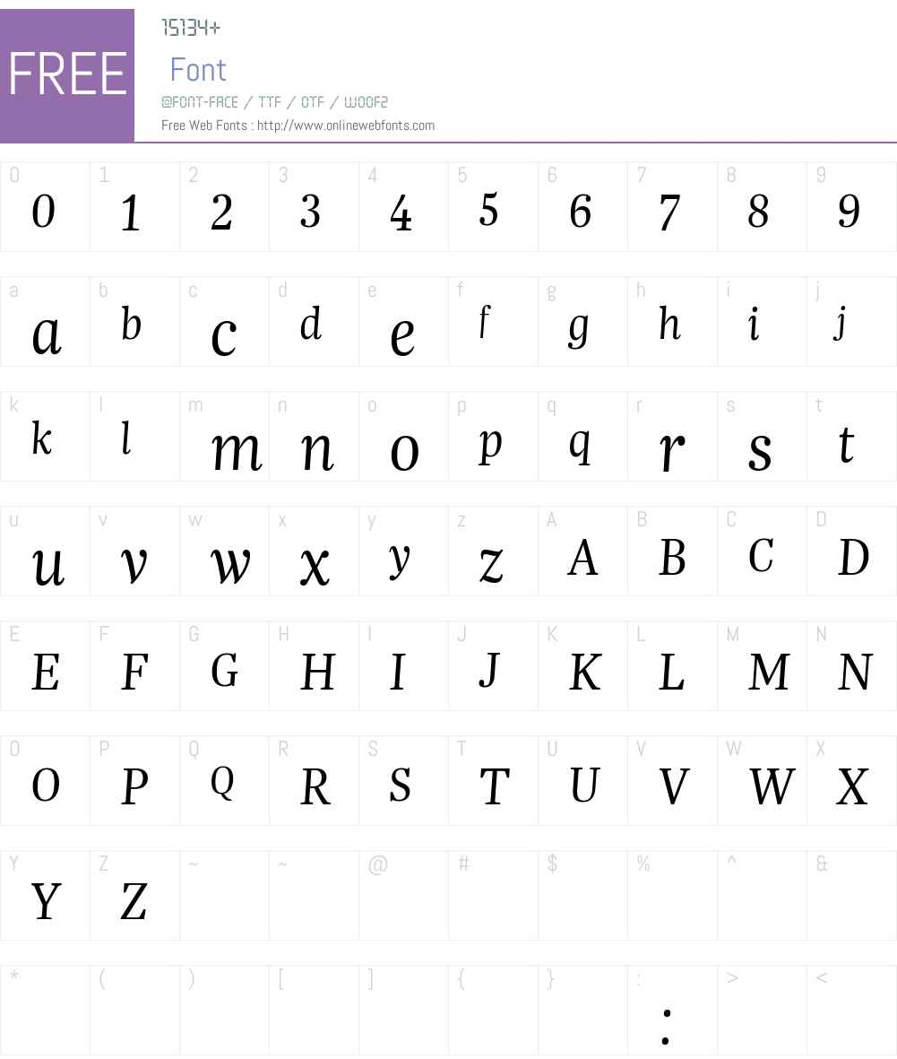 Trola LatCyr Light Font Screenshots
