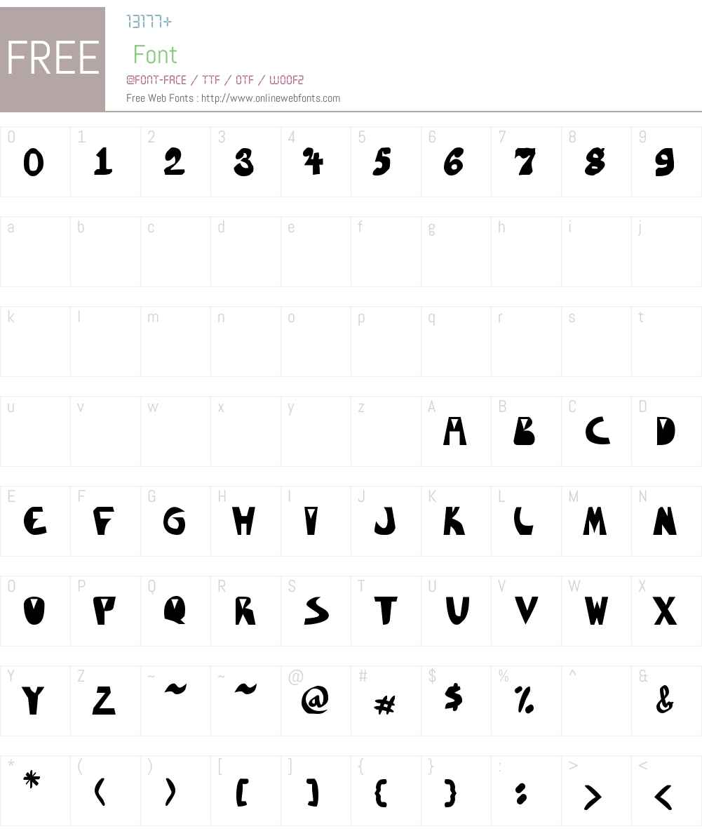 Merlotica Font Screenshots