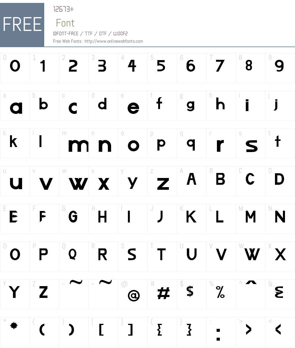 Lizard Font Screenshots