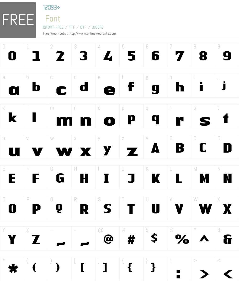 LTAuthenticSansW01-Bk Font Screenshots