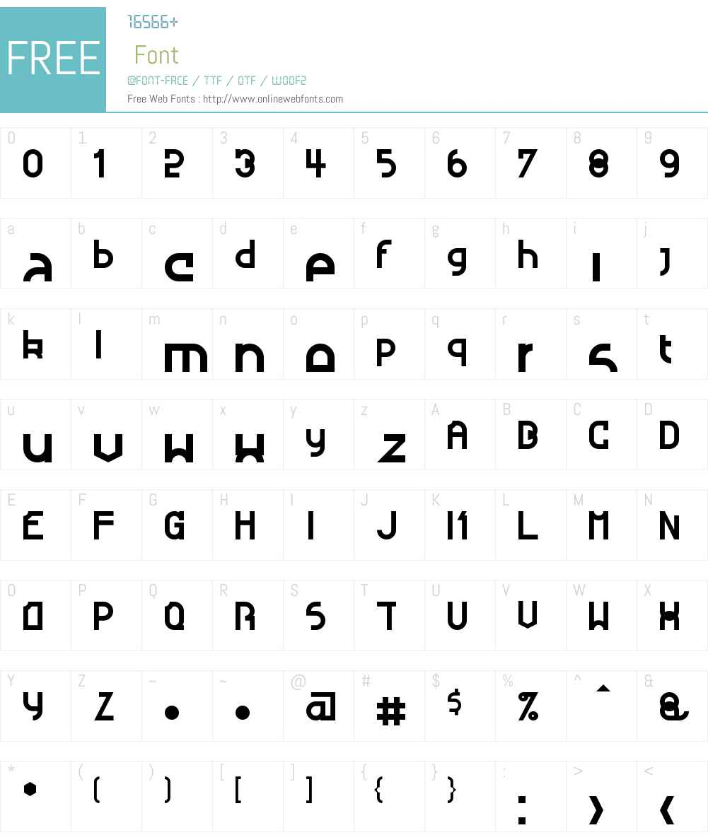 Nougatine Font Screenshots