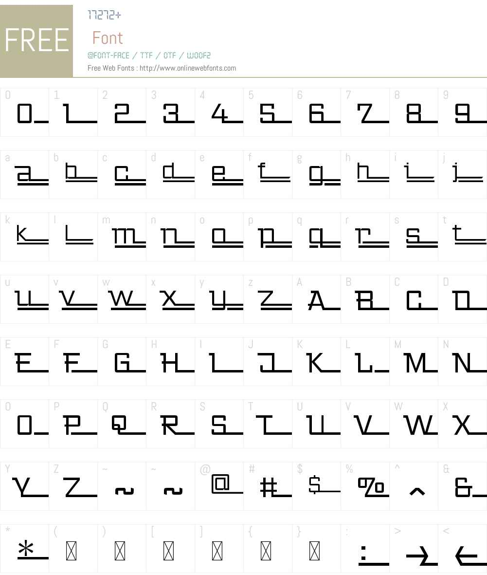 ZingerW00-Regular Font Screenshots