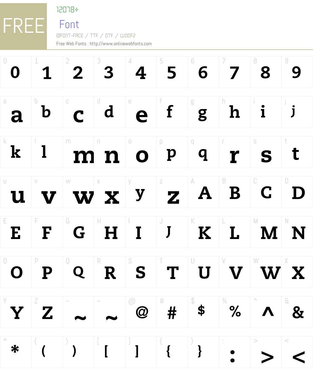 Caecilia LT Std Font Screenshots