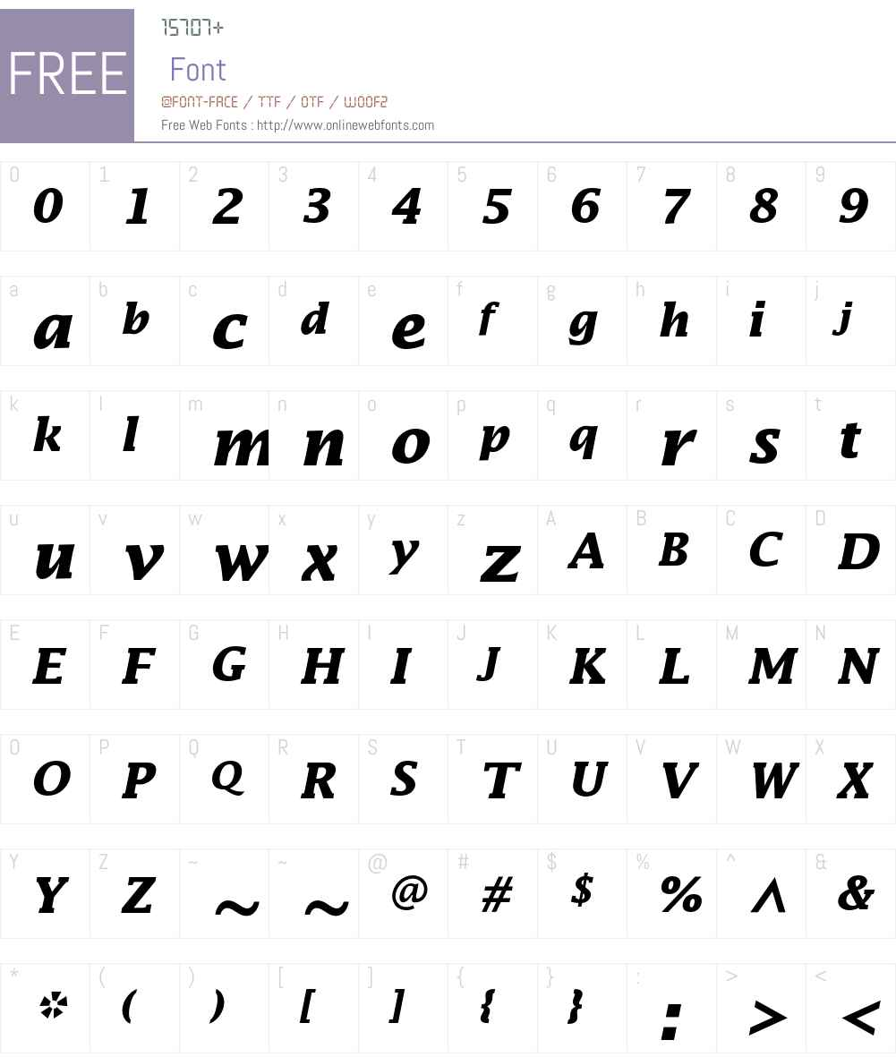 Lucida Font Screenshots