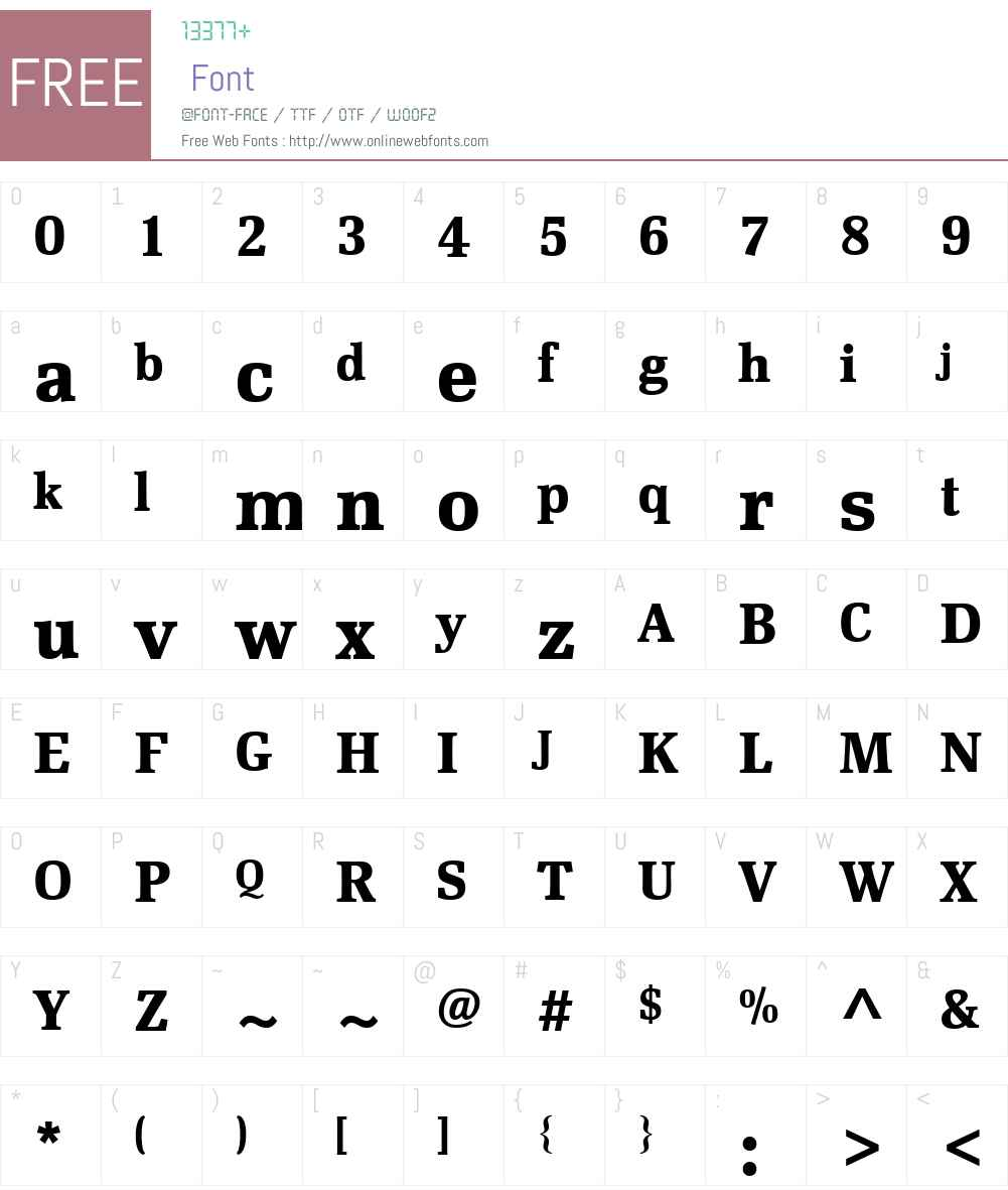 Scherzo Font Screenshots