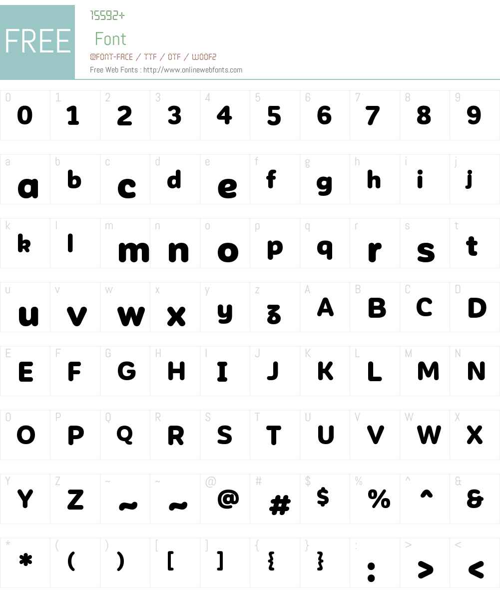 Corporative Sans Rounded Font Screenshots
