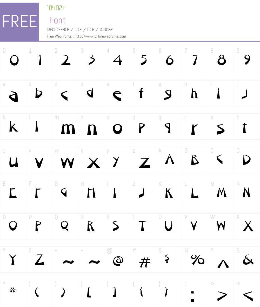 UmkhontoW01-ExtraWide Font Screenshots