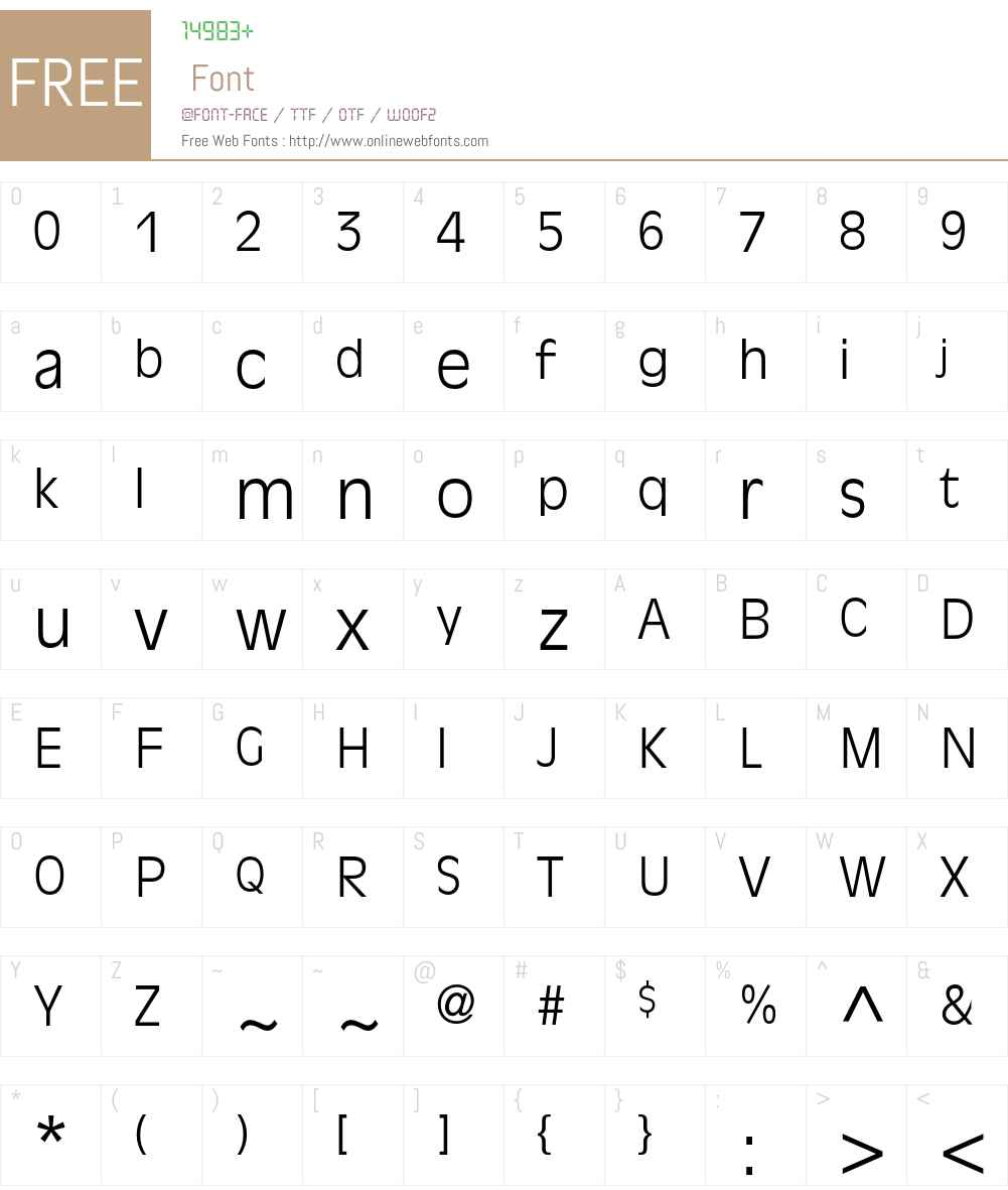 AntiqueOlive Font Screenshots