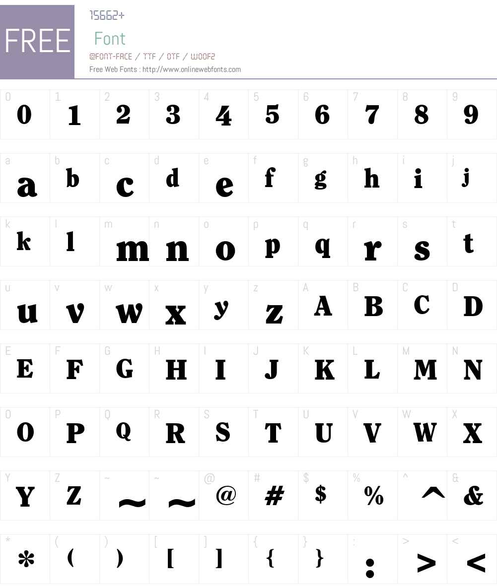 ITC Clearface Font Screenshots