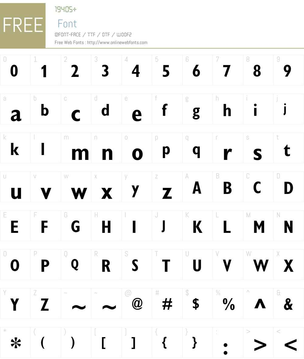 Gill Sans Display MT Pro Font Screenshots