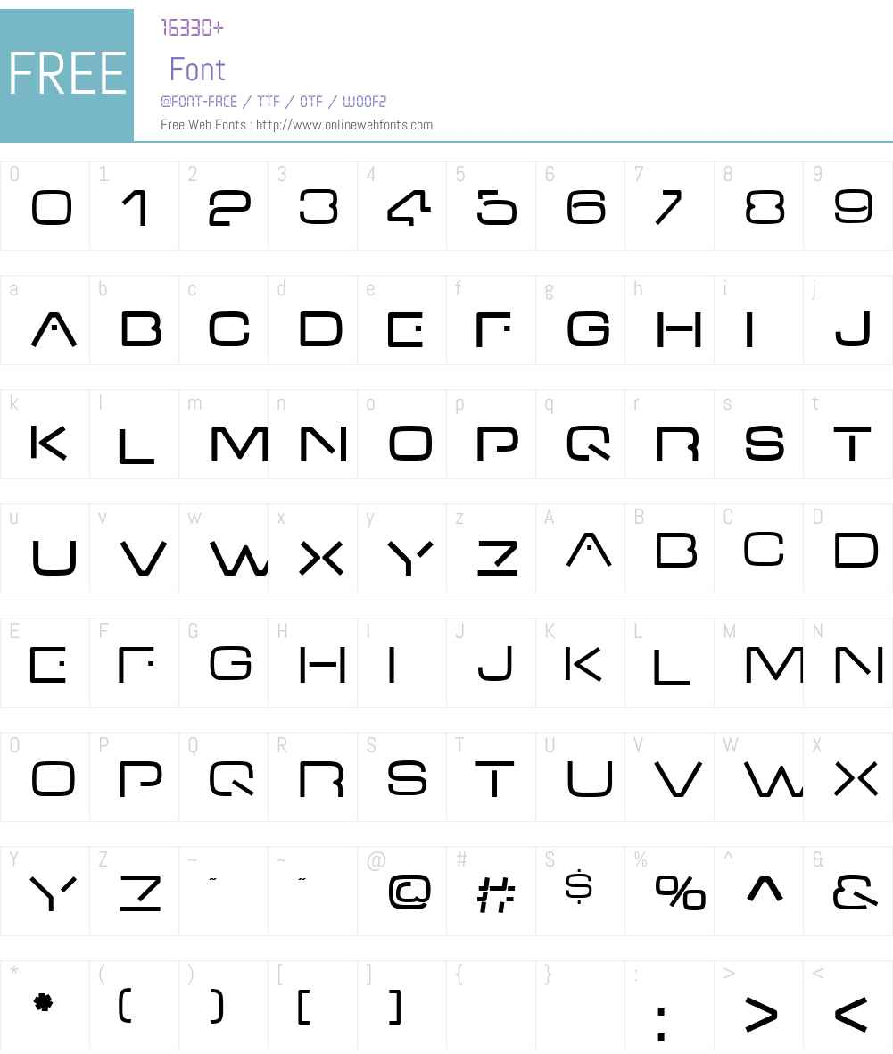 VDub Font Screenshots