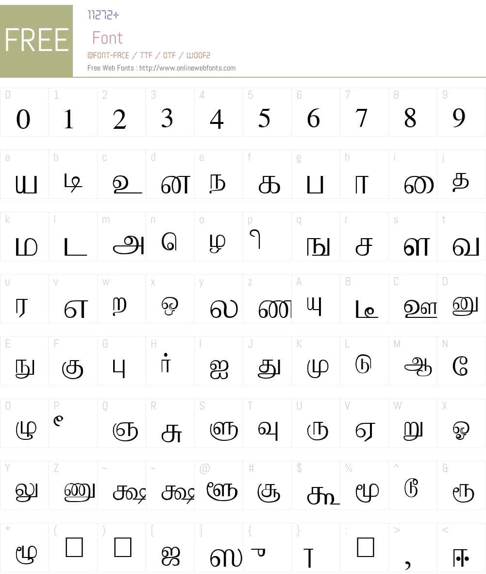 Aabohi Font Screenshots