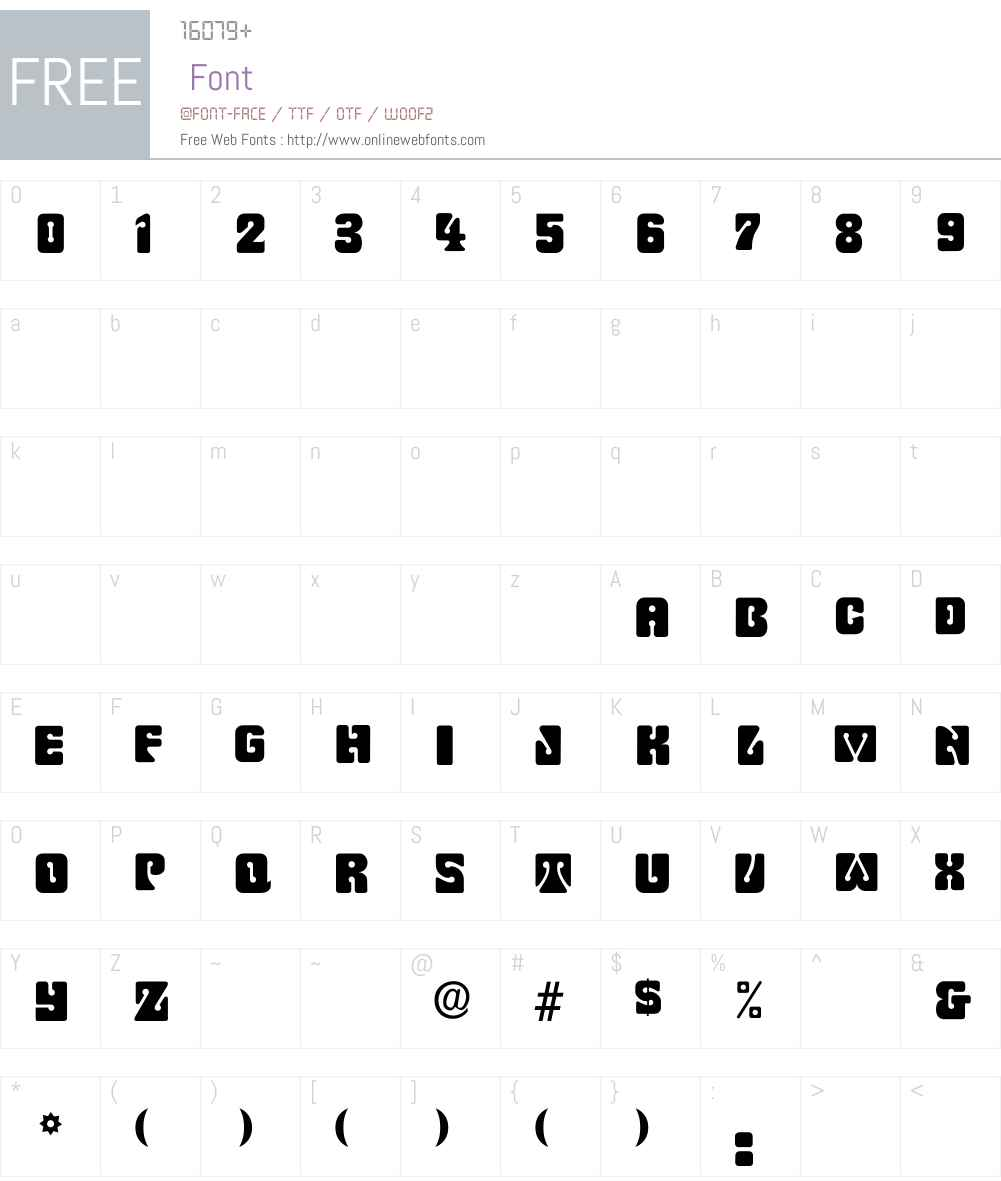 Pinochle-Normal Font Screenshots