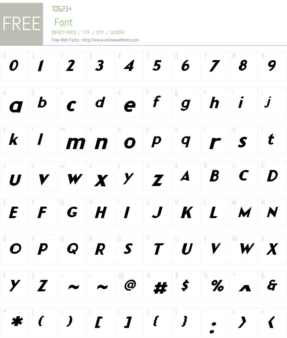 CCRocketManSecondStageW-It Font Screenshots