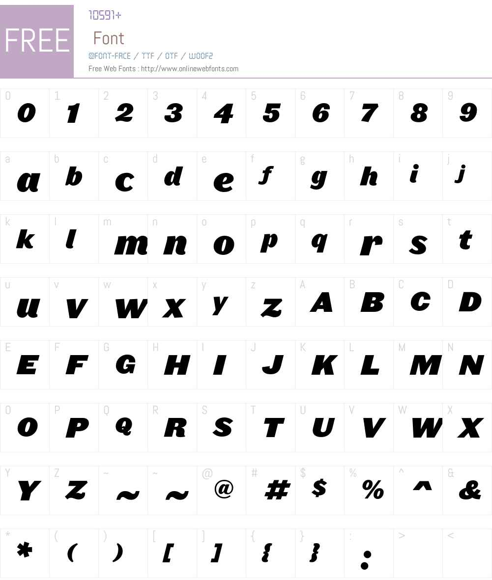Leviathan Font Screenshots