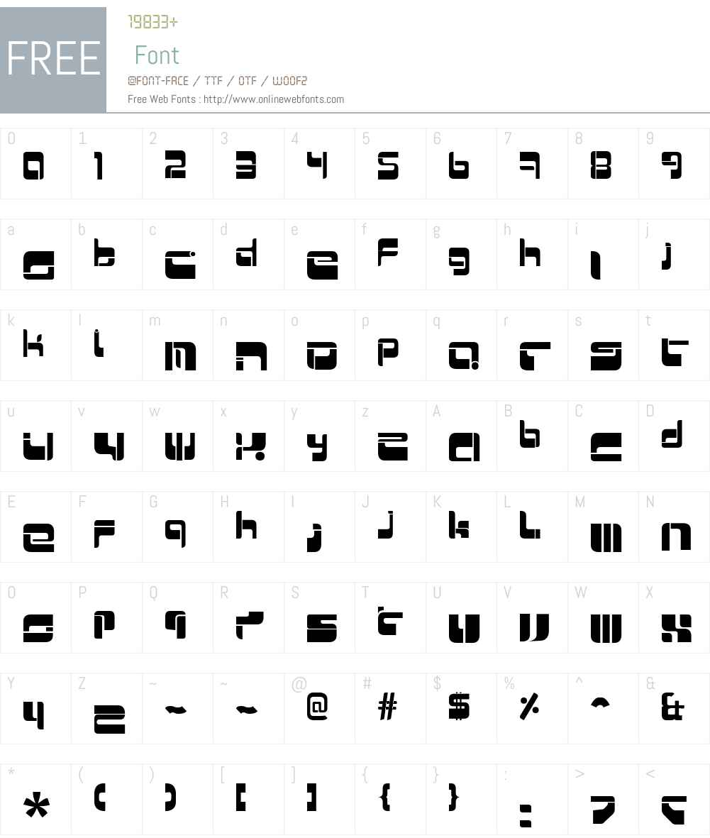 Mr Quicke Font Screenshots