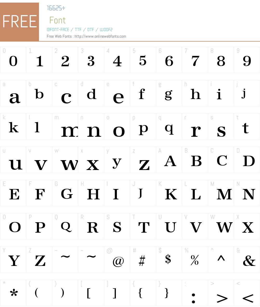 URWAntiquaTMedWid Font Screenshots