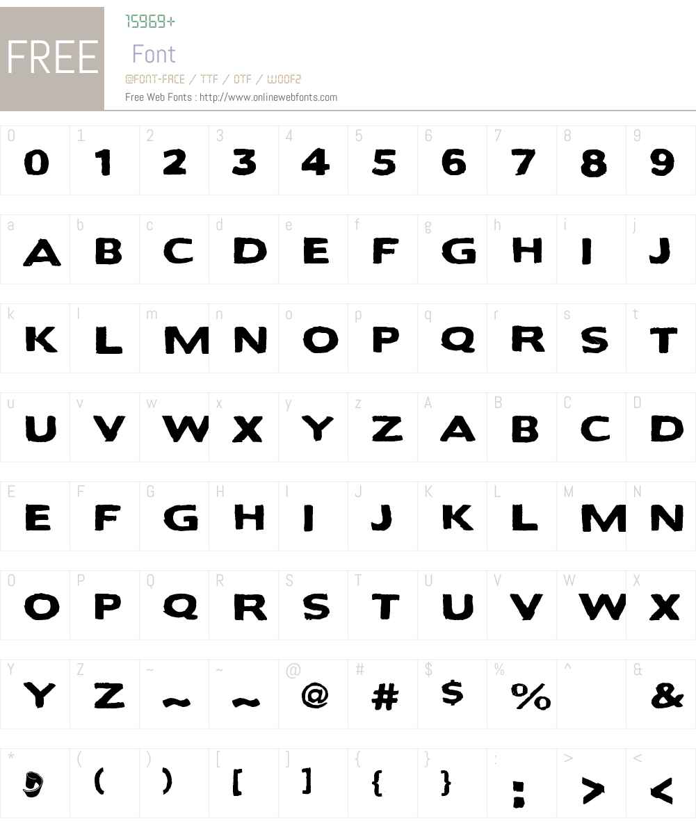 Bactosaurus Font Screenshots