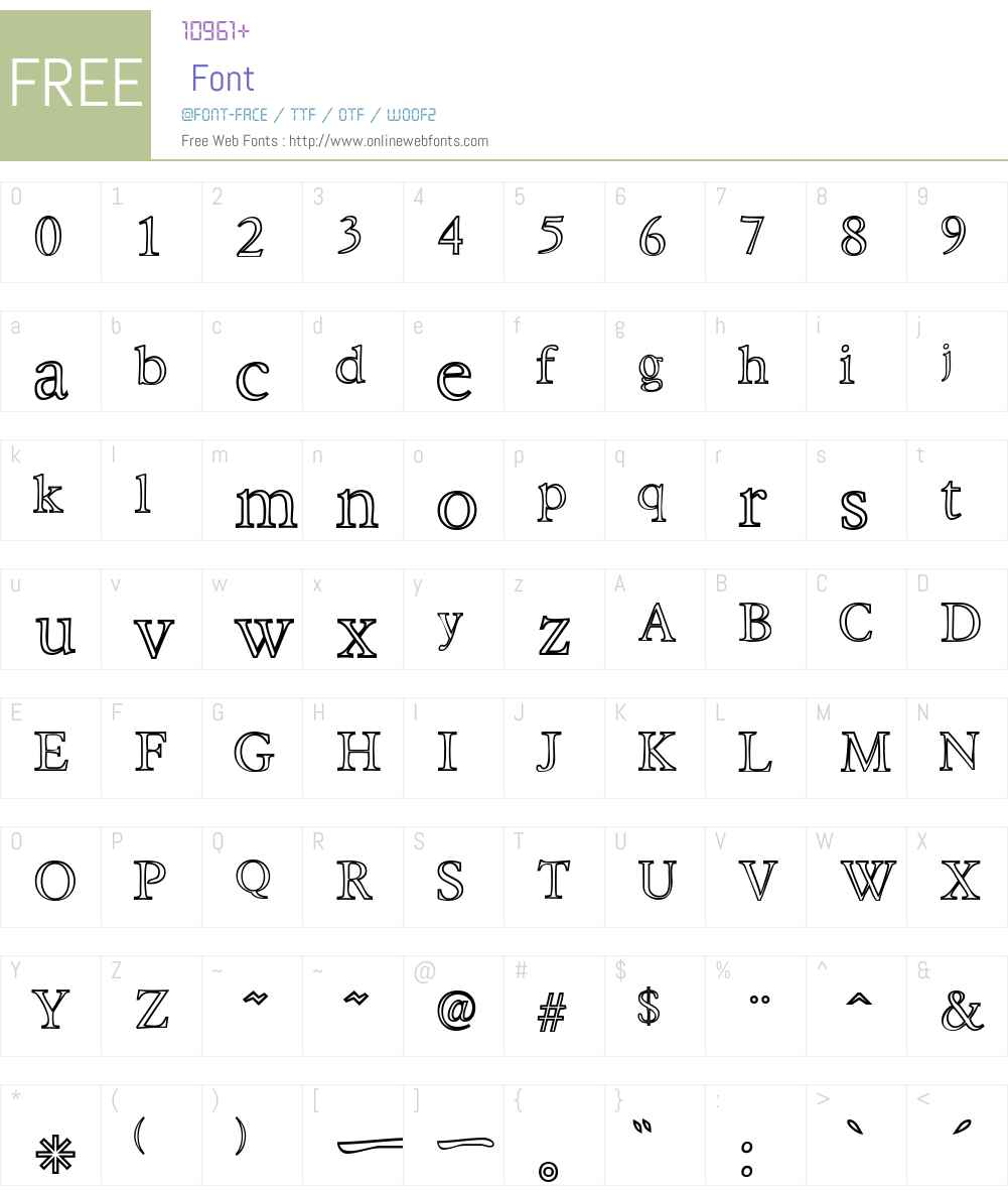 Hira & Katakana W Font Screenshots