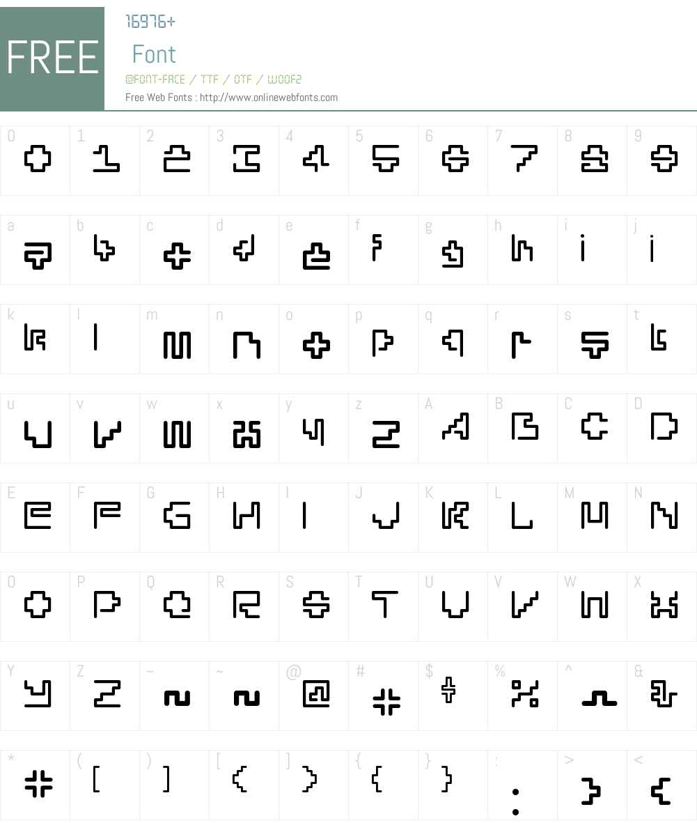 SilesiaW00-Medium Font Screenshots