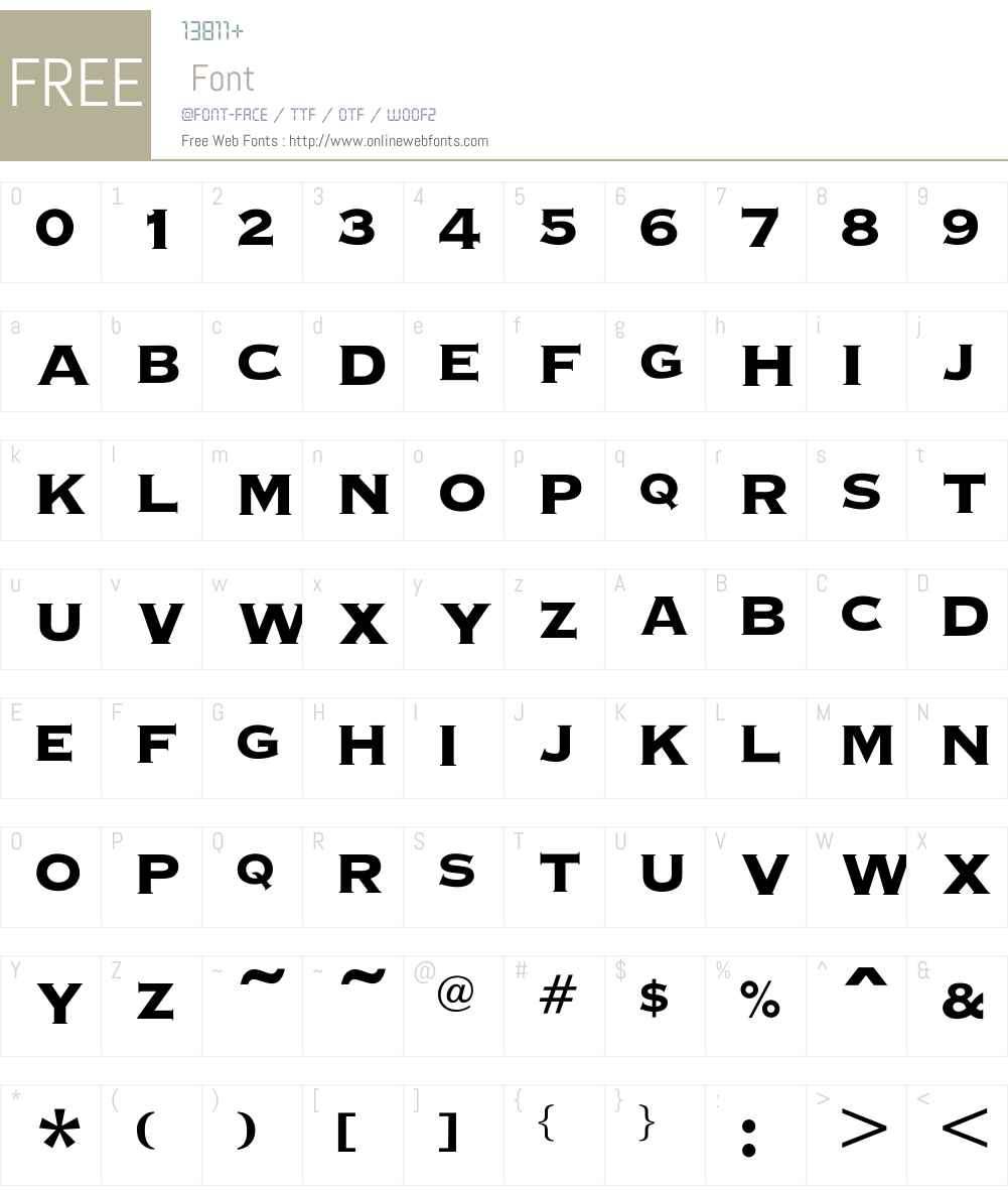 OPTICopperplate Font Screenshots