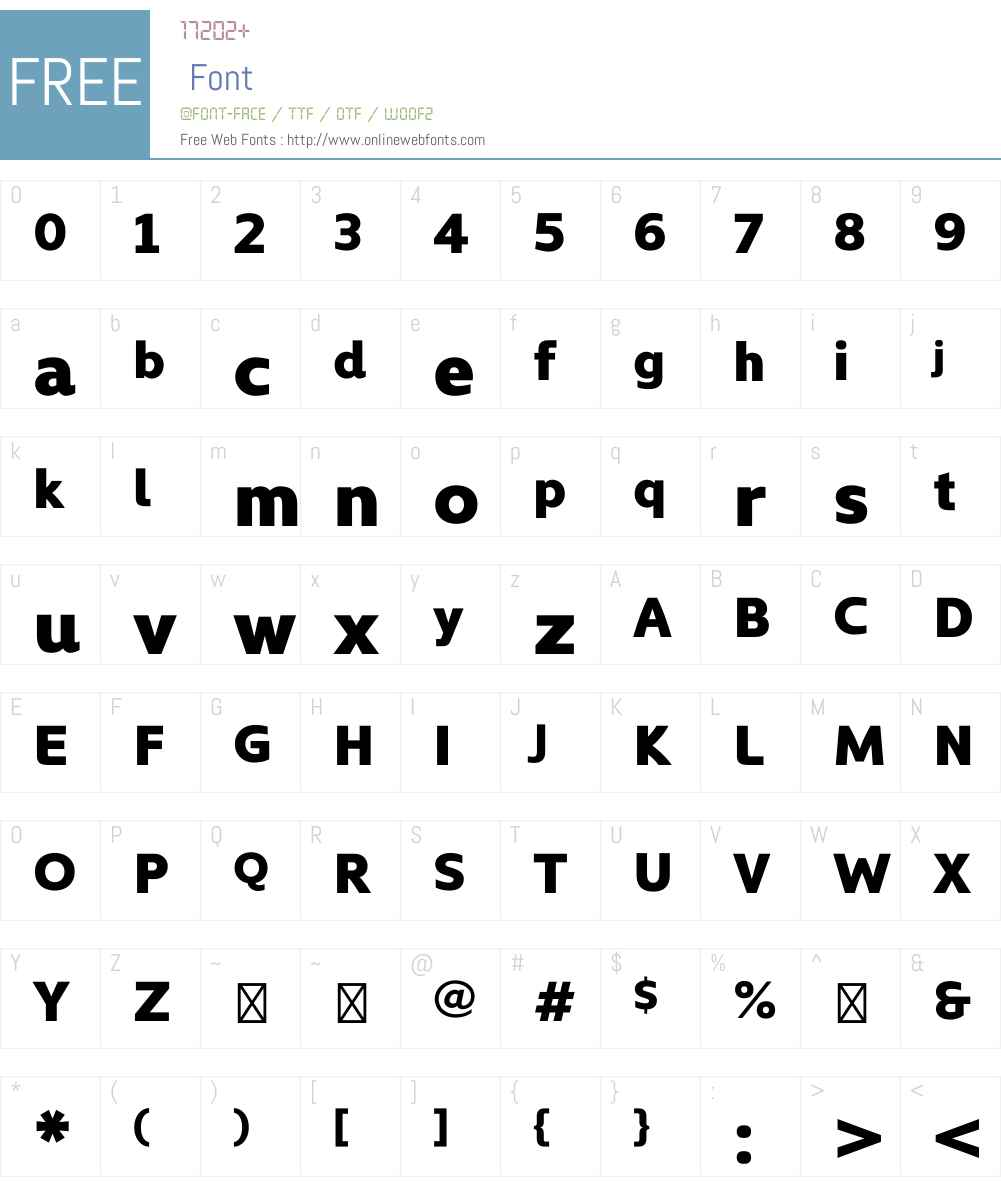 Kyrial Display Font Screenshots