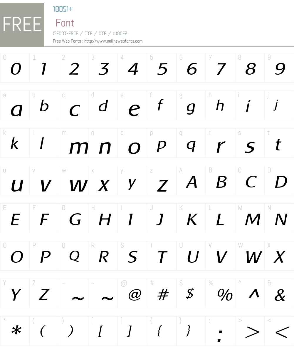 Baar Metanoia Font Screenshots