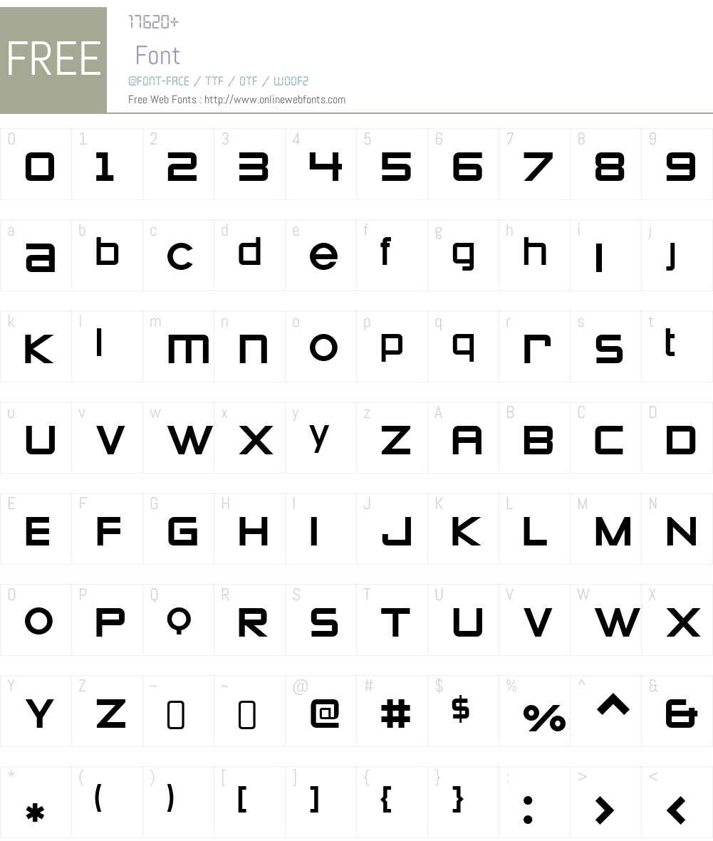Zeroes1W90-Regular Font Screenshots