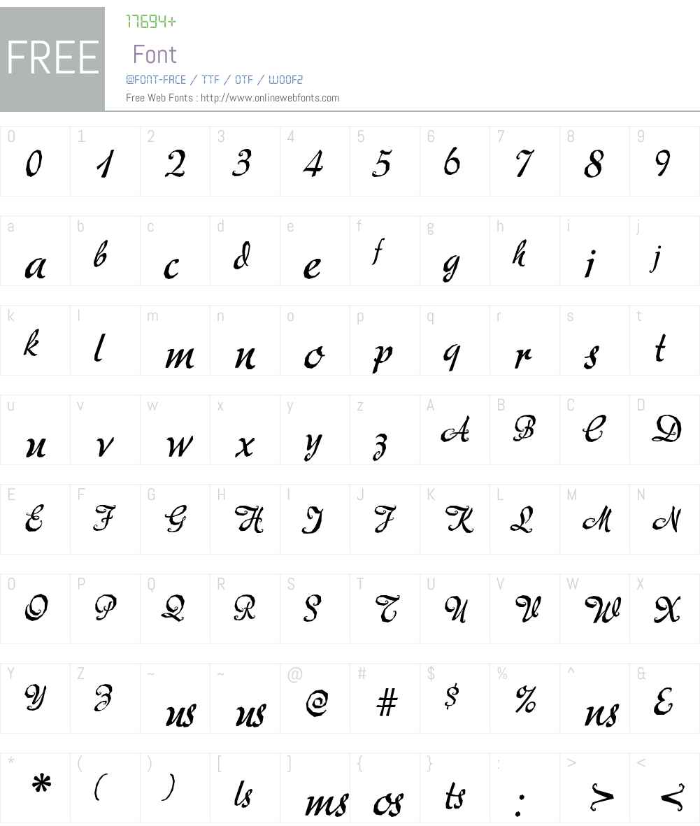 Mecheria Font Screenshots