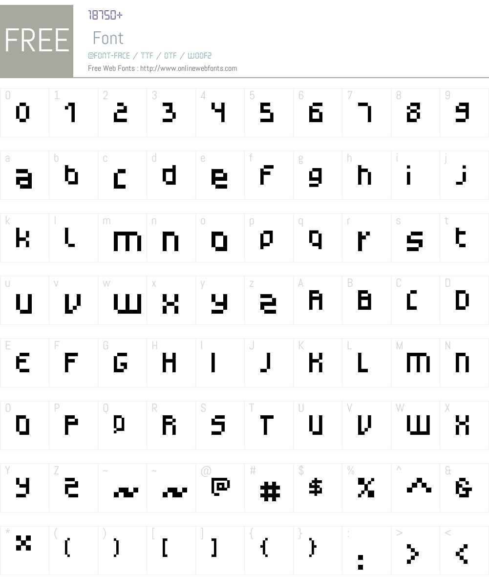 Monotype Gerhilt Font Screenshots